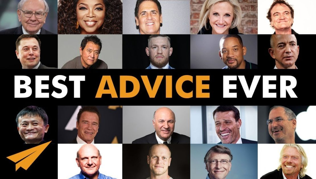 The 20 BEST Pieces of ADVICE Every Aspiring ENTREPRENEUR Needs to HEAR!