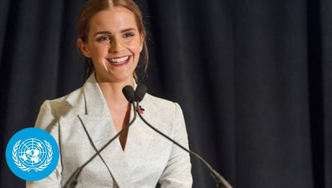 Emma Watson at the HeForShe Campaign 2014 - Official UN Video