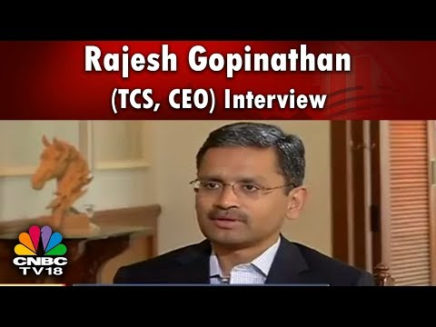 TCS CEO Rajesh Gopinathan Interview (Exclusive) | One Year As TCS CEO | CNBC TV18