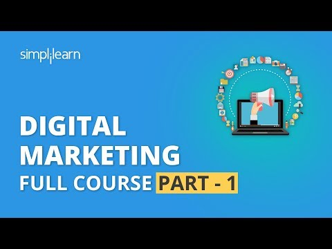 Digital Marketing Course Part - 1 🔥| Digital Marketing Tutorial For Beginners | Simplilearn