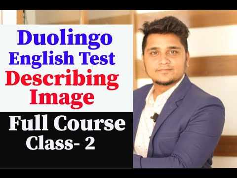 Duolingo English Test- Describing Image for Speaking & Writing | Tips & Tricks for Image Description