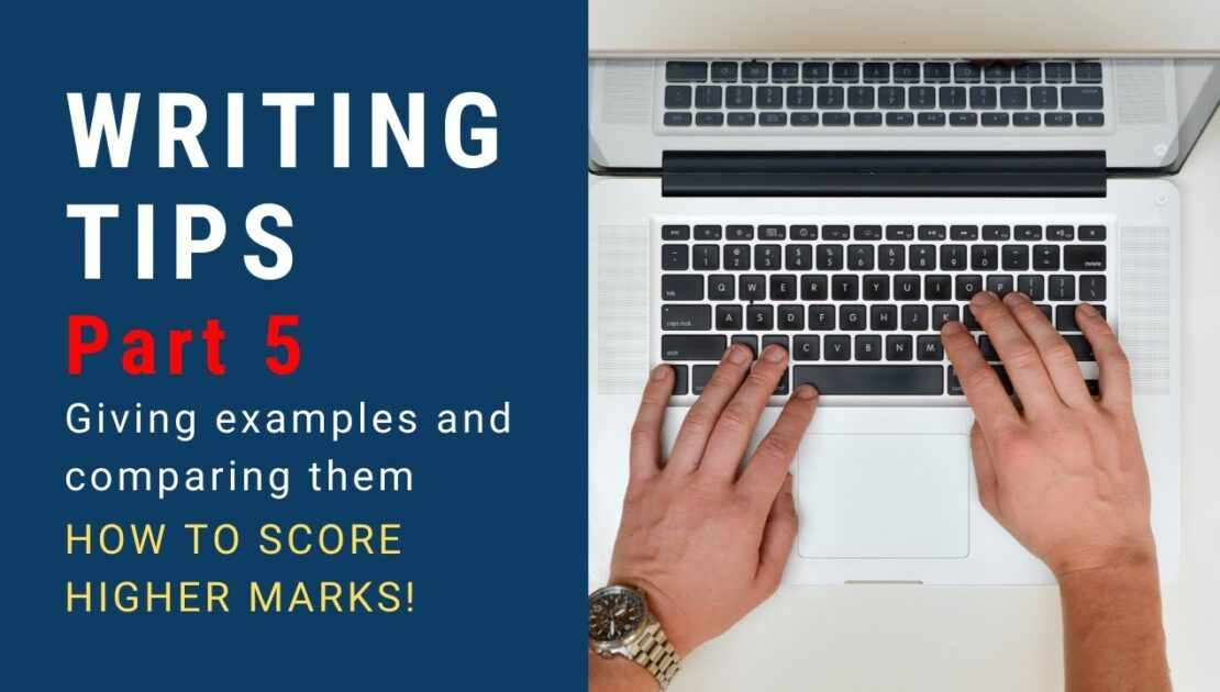 Learn English: Writing Tips Part 5 - giving examples