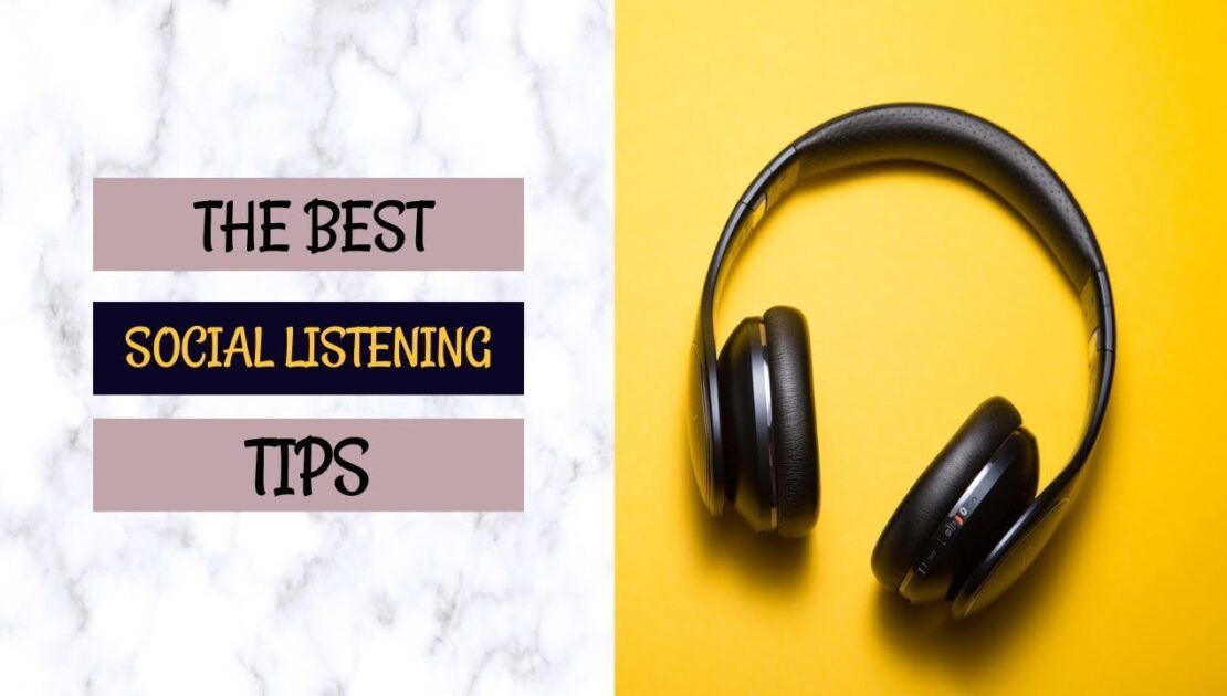 B2C Digital Marketing Tips (Social Media Listening)