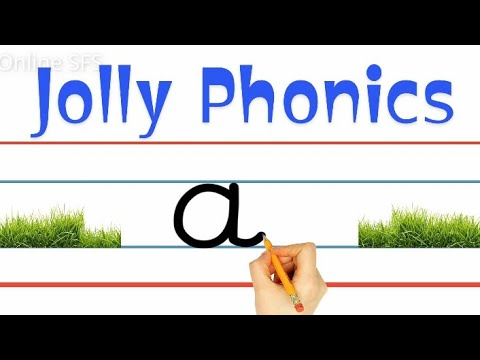 Jolly Phonics | Pre-School Learning | Learning Sounds in English | Writing Tips for Pre-Primary