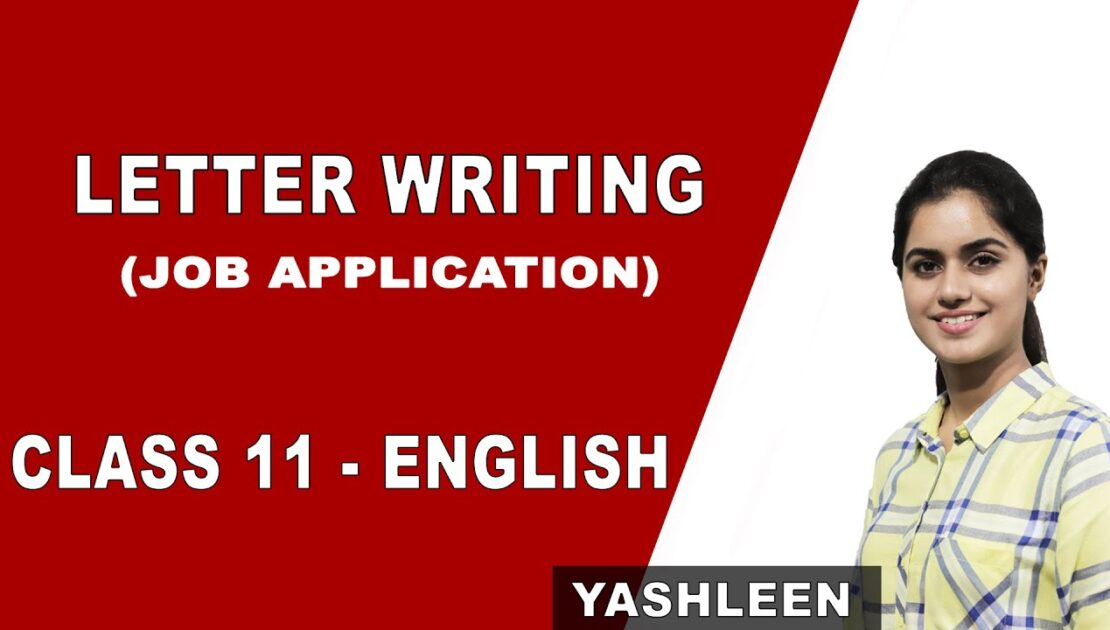 Letter Writing for Job Application | Tips and Tricks | Class 11 English | Grammar | CBSE | NCERT