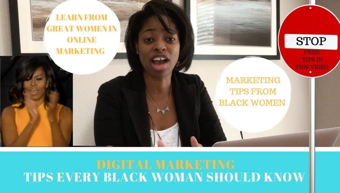 How to market/promote  your business online - digital marketing tips from women who look like you