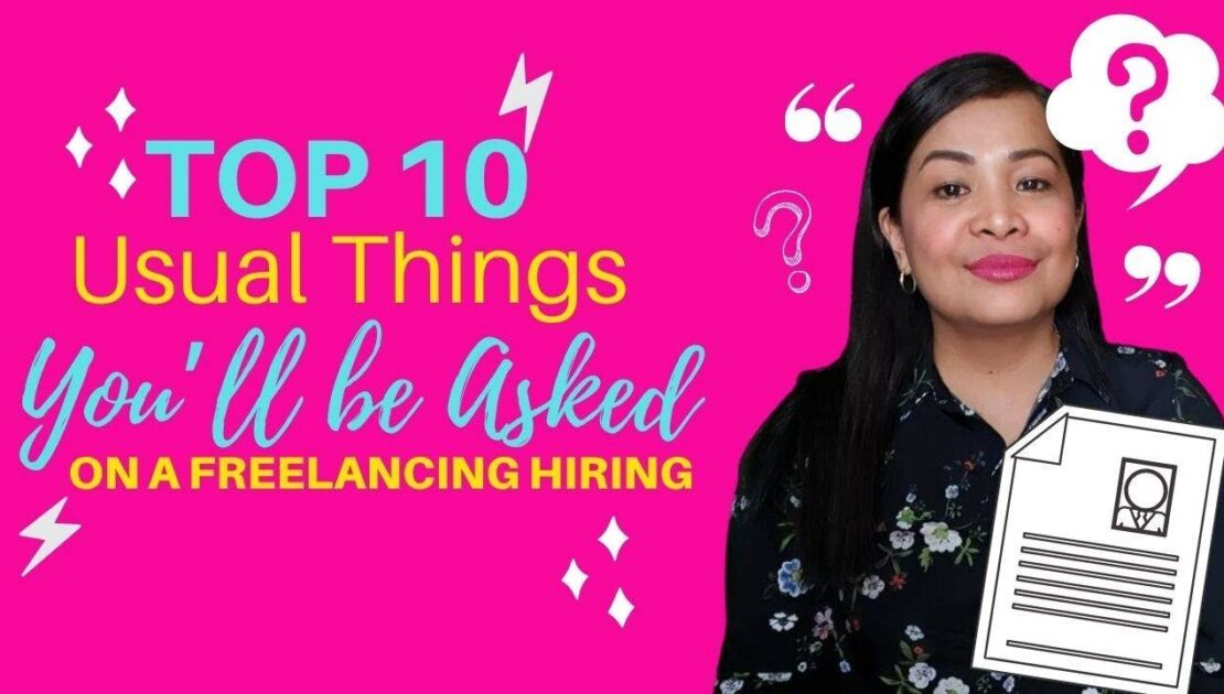 Top 10 Usual Things You'll be Asked on a Freelancing Hiring   FVA Business Consultancy