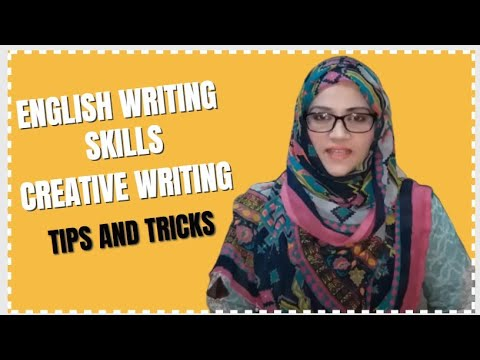English Writing Skills in an easy way | Effortless Tips Follow | English Essay Creative Writing.