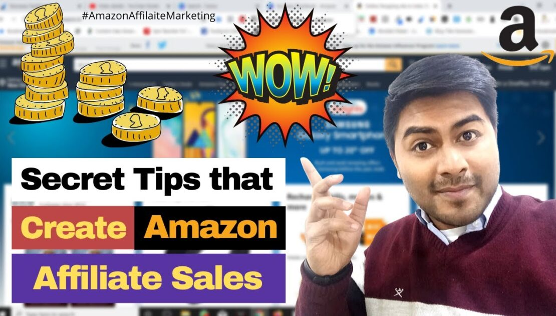 Earn Online from Amazon Affiliate Marketing with my Secrete Tips and Tricks - Digital Marketing