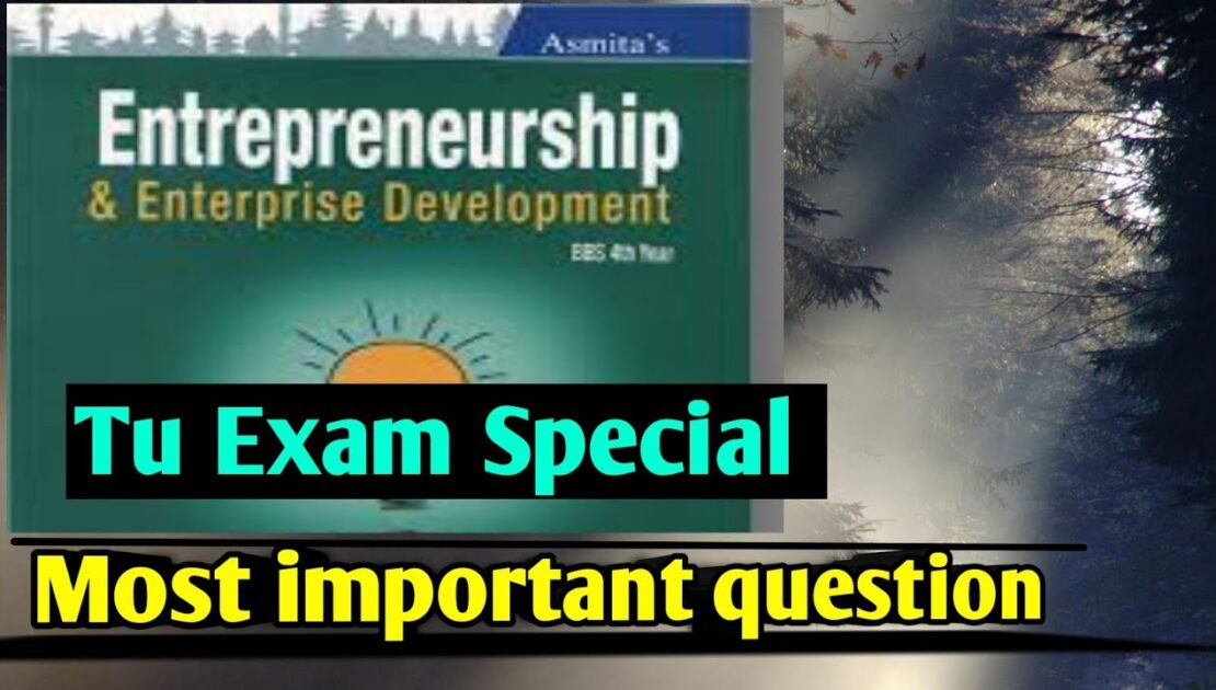 BBS 4th year entrepreneurship most important question