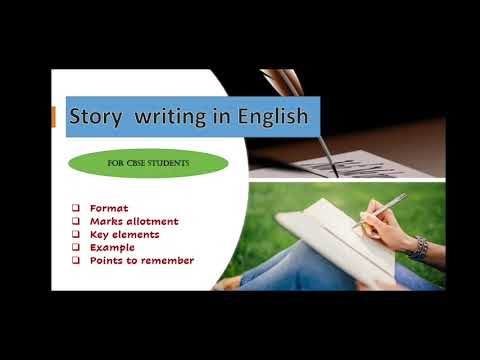 Story Writing in English CBSE Format, Marks, Tips and Example