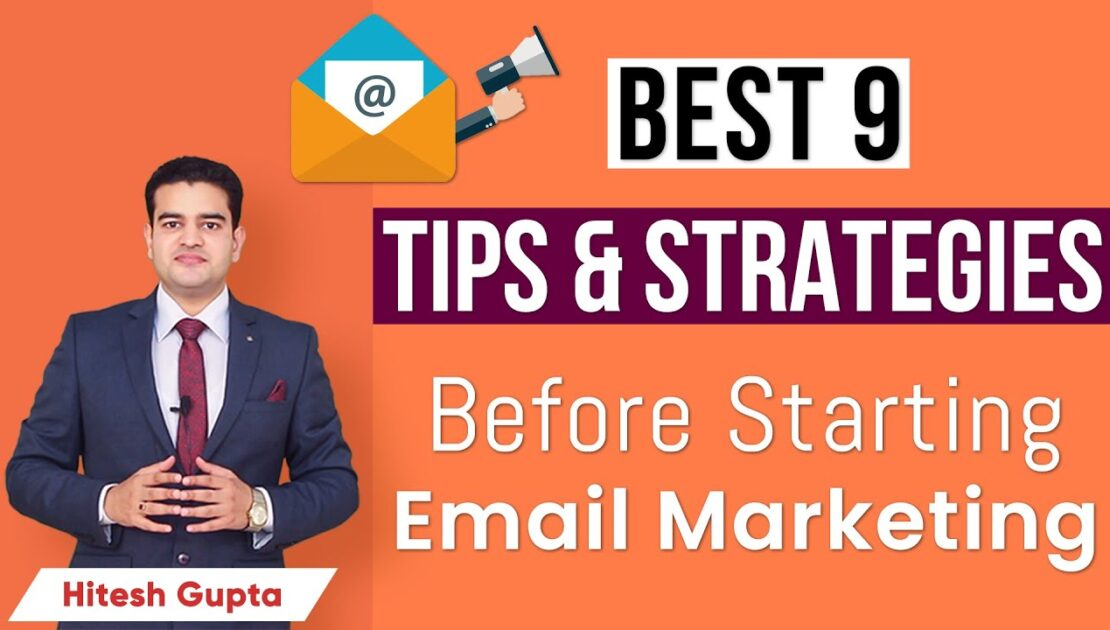 Email Marketing for Beginners | Email Marketing Tips and Techniques | Email Marketing Strategy