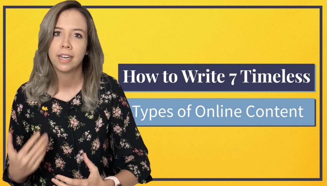 What is Content Writing? How to Write 7 Types of Online Content