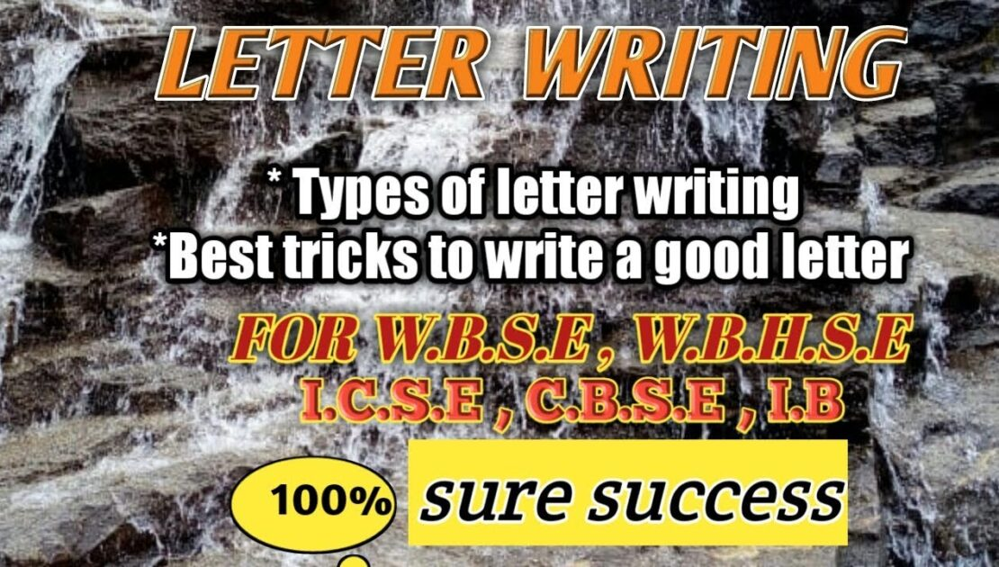 Letter writing tips/process of letter writing/English Wisdom
