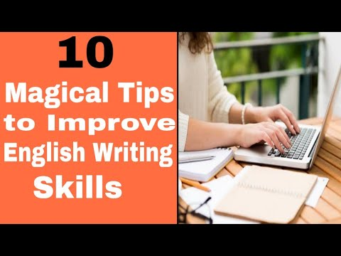 Improve English writing skills/ 10 tips to improve writing skills/ simple learning