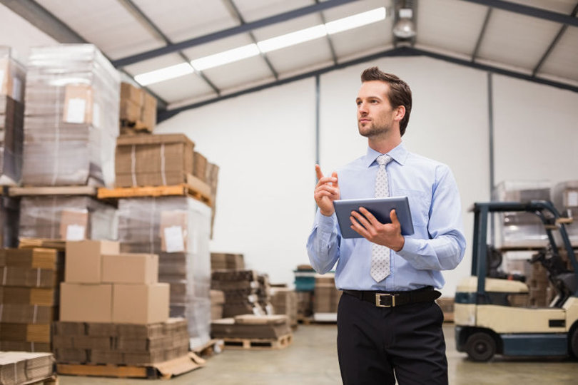 Supply chain manager who manages the warehouse