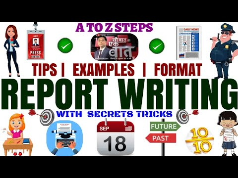Report Writing in English- CBSE |Format | Tips |Examples for Class 11 , 12, 9 & 10