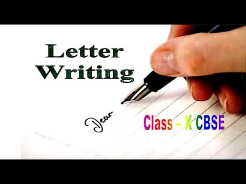 English-- Letter Writing(Formal Letters) - Tips - Solved Examples & Assignments - Class - X - CBSE