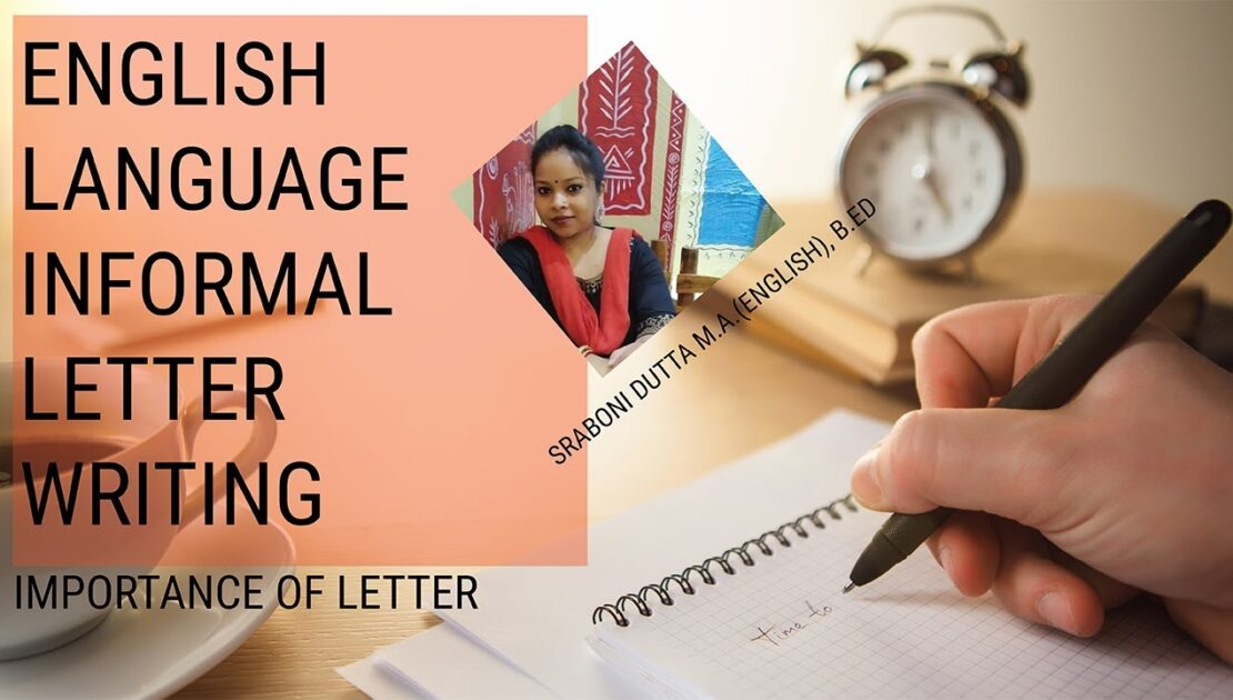English Language Informal Letter Writing | learn English | Letter Writing tips