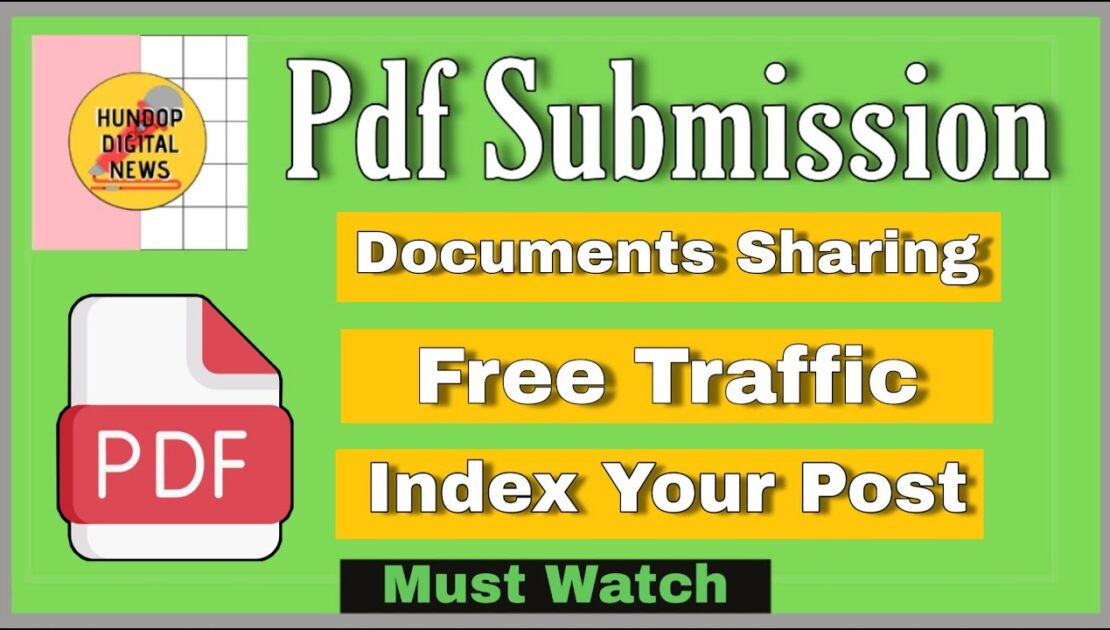 PDF Submission Seo? Technical Off Page SEO Technique || Digital Marketing Tips ||