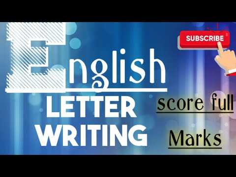 English Letter Writing tips! || CBSE BOARD || SSC BOARD || LETTER WRITING IN ENGLISH!