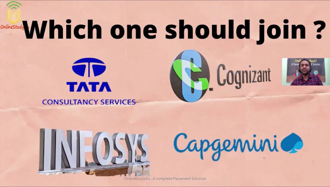 Which Company Should YOU Join? TCS , CTS, Infosys, Capgemini | better growth