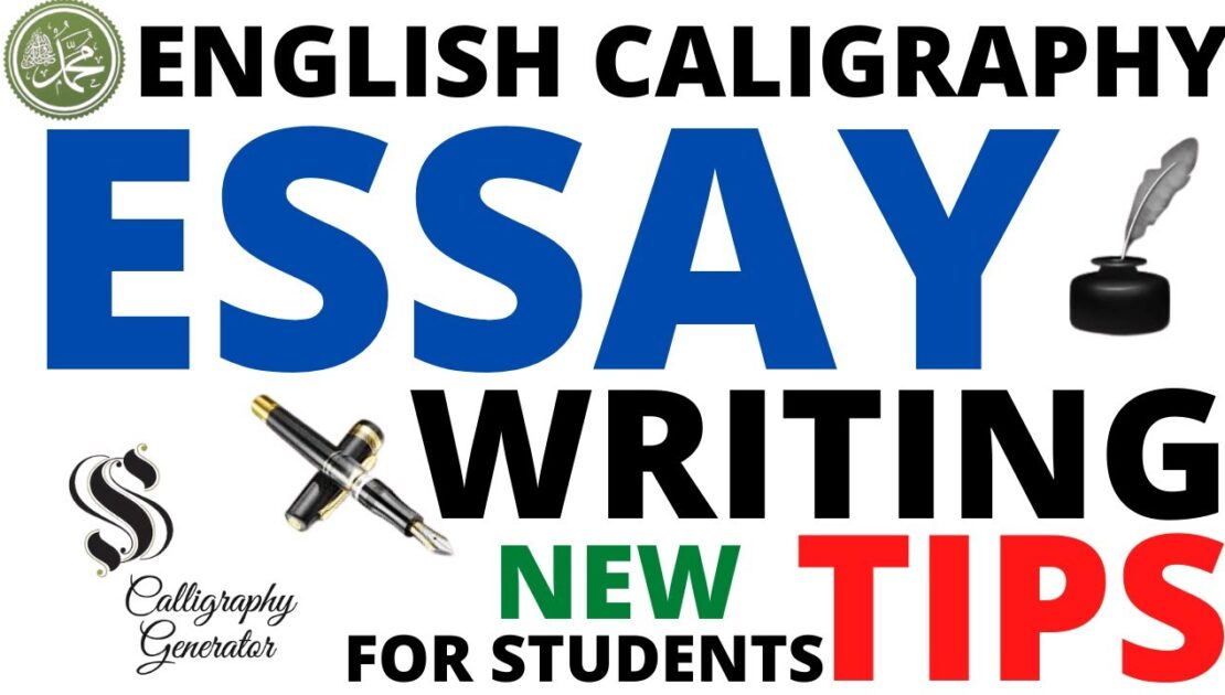 HOW TO WRITE ESSAY ENGLISH WRITING TIPS FOUNTAIN PEN CALIGRAPHY
