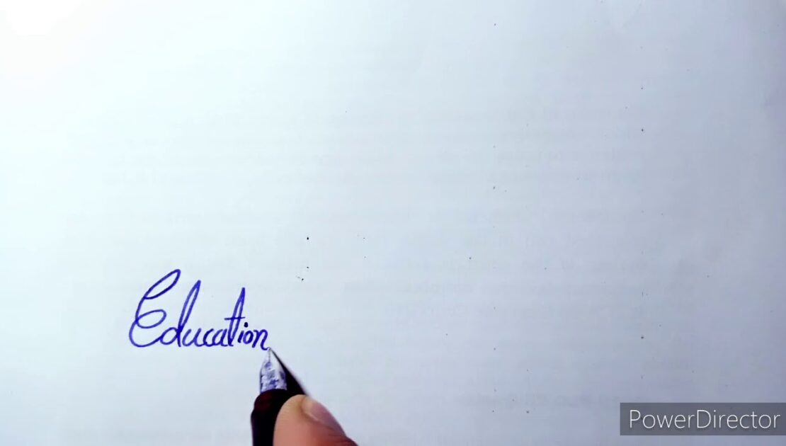 simple hand writing tips ,how to write English ,best English quataion .nalson Mandela .