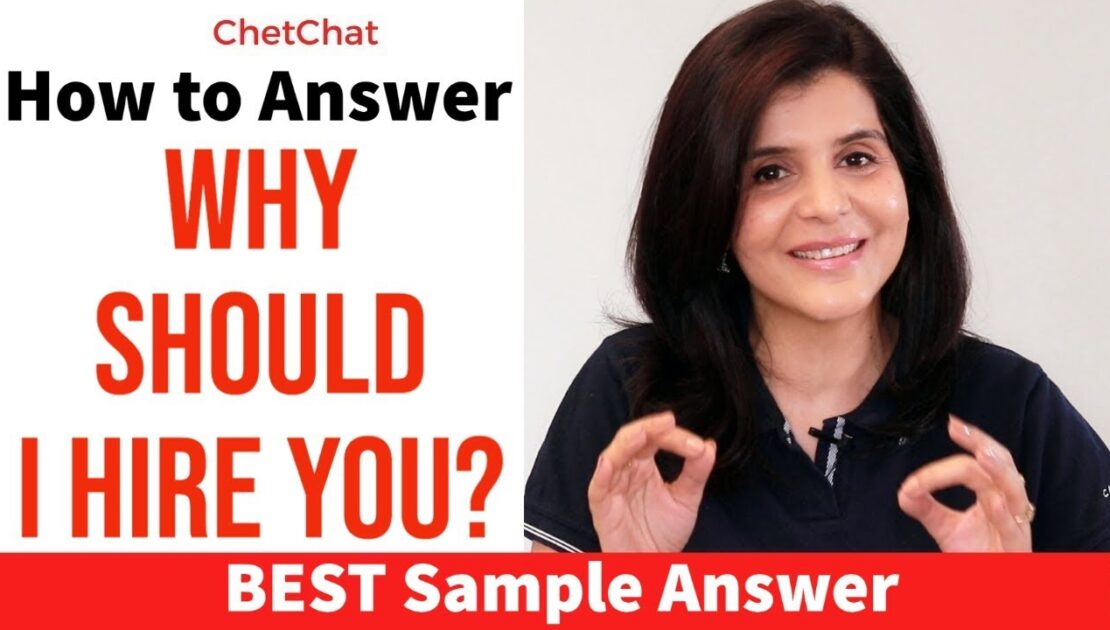 Why Should We Hire You? | Best Answer for Freshers & Experienced People | ChetChat Interview Tips