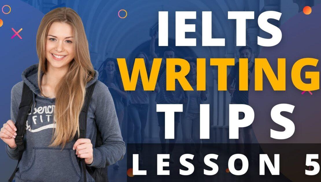 IELTS Writing Tips | Lesson 5 | British School of English