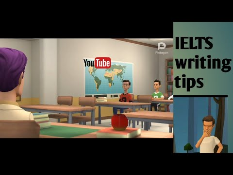 Check how a cartoon talk about english./IELTS writing tips by student jubayer.