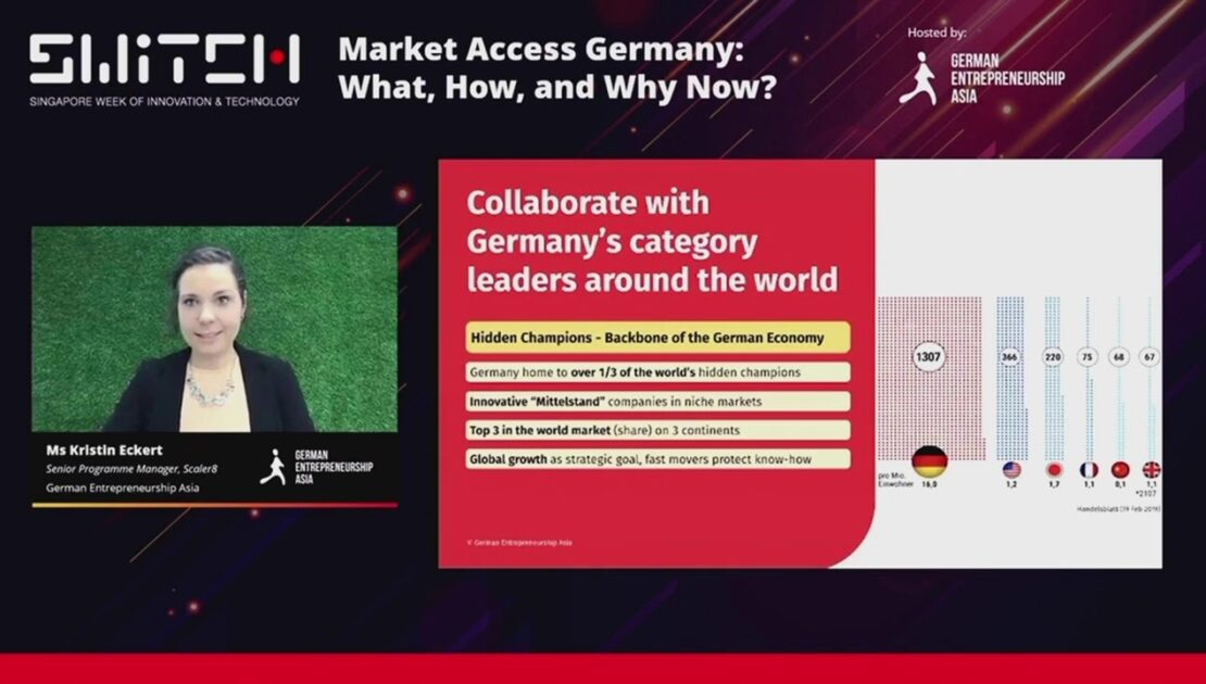 SWITCH 2020 | Market Access - Germany: What, How, and Why Now?