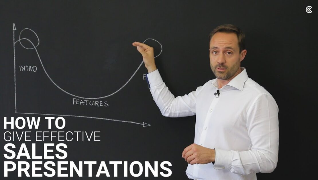 How to give effective sales presentations?