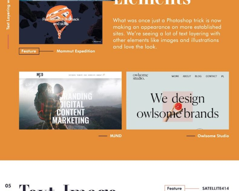 7 Typography Design Trends for 2021