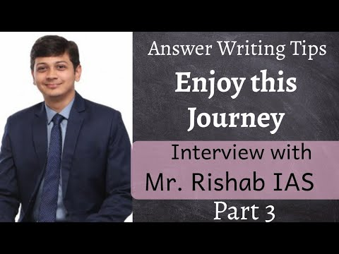 Enjoy the UPSC Preparation Journey - Interview Experience - Answer writing Tips - English | D2D