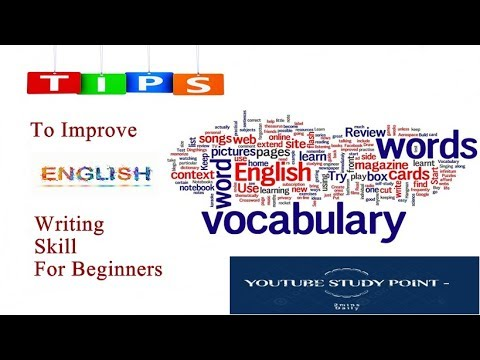 Tips to improve English writing skill for beginners