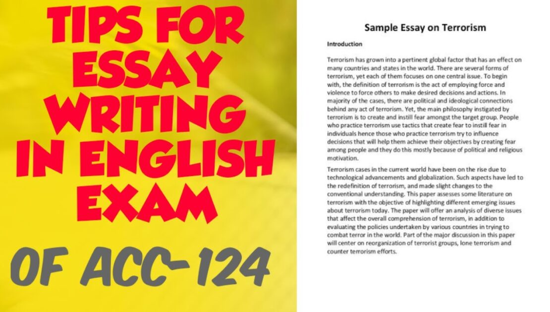 ESSAY WRITING IN ENGLISH EXAM OF ACC- ARMY CADET COLLEGE TIPS