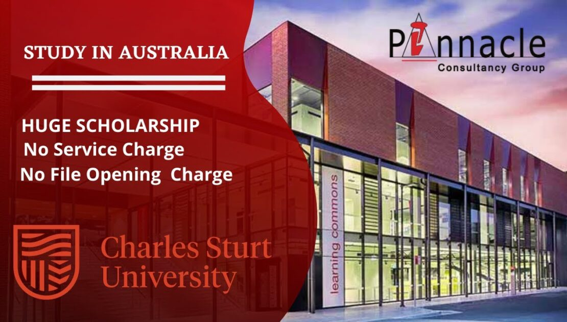 Charles Sturt University | Study In Australia | Pinnacle Consultancy group