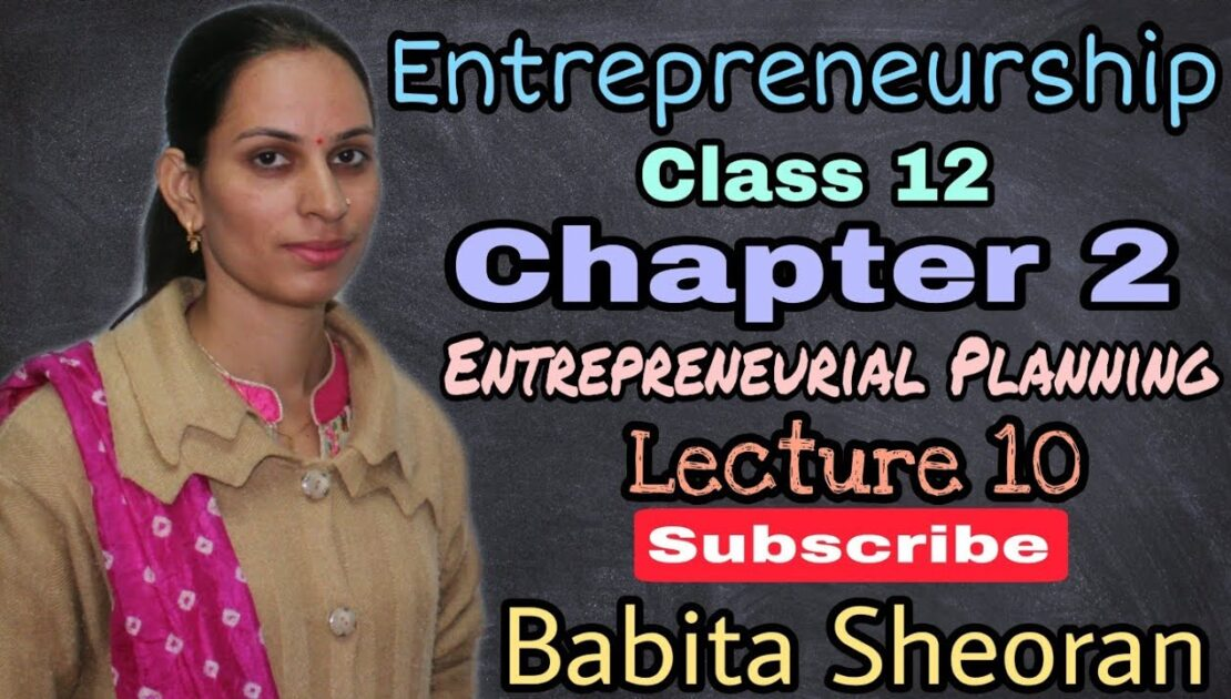 @10 Operational Plan | Production plan | Entrepreneurship class 12 | In hindi