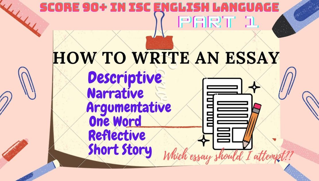English Essay Writing (Paper I) | Class 12 ISC Board Exam |Composition| PART 1|SCORE 90+ IN ENG LANG