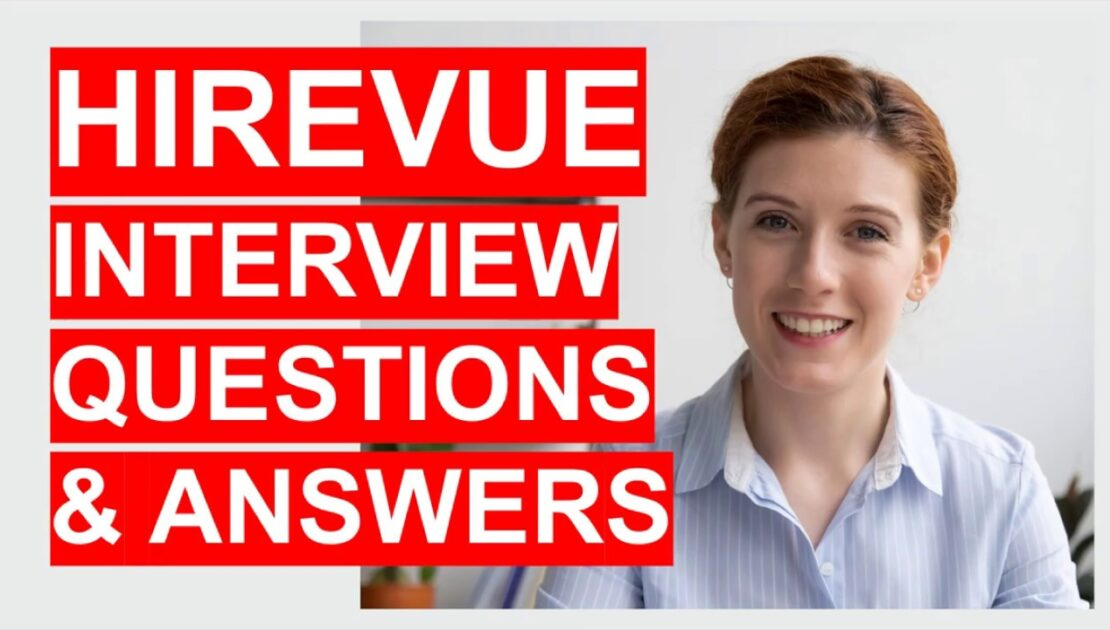 HIREVUE Interview Questions, Tips and Answers! How to PASS a HireVue Interview!