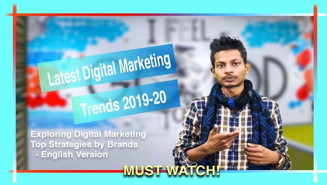 Digital Marketing Trends & Dominating Strategies 2020 | By Harshit KZ | Fliar BI [In English]