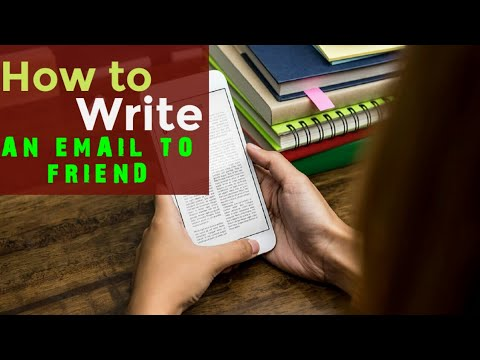 #HIGOO Write an email to Friend advising him to improve health||How to Email Writing in English