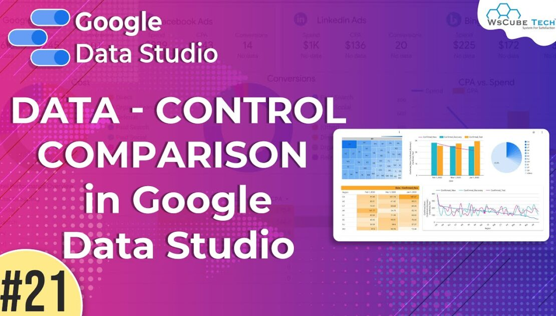 Sharing of Reports in Google Data Studio - Google Data Studio (Part 21) | WsCube Tech