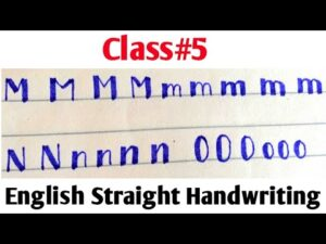 English Calligraphy for beginners ||Class #5 ||Easy Way to write English with Cut Marker 604 and 605