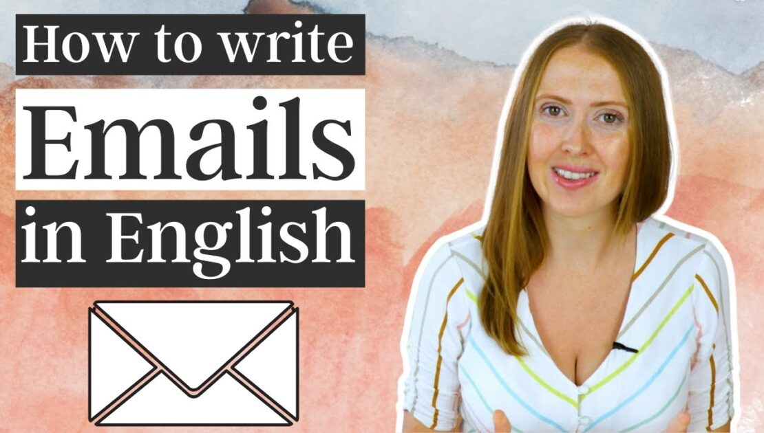 How to write Professional English Emails ✉️
