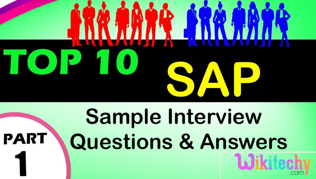 SAP top most interview questions and answers for freshers experienced online videos Lectures