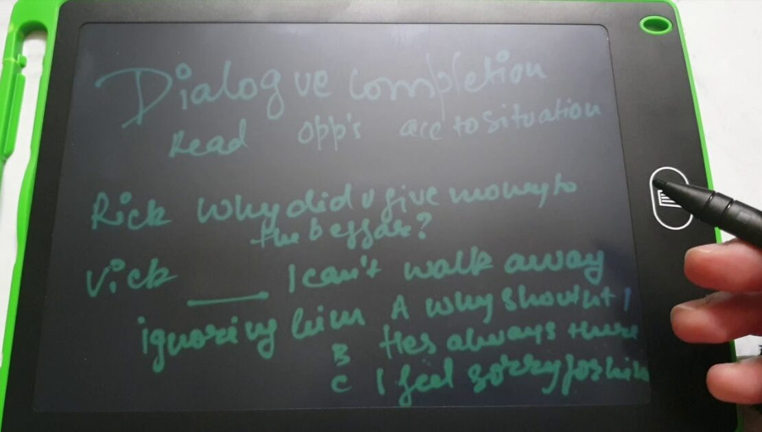 DIALOGUE COMPLETION | English Writing Skills