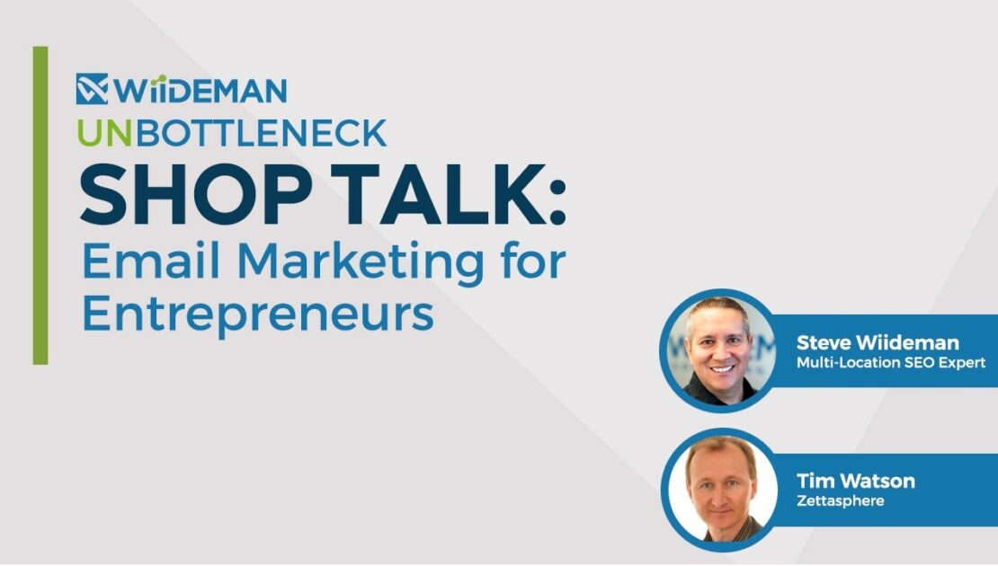 Shop Talk: Email Marketing with Tim Watson
