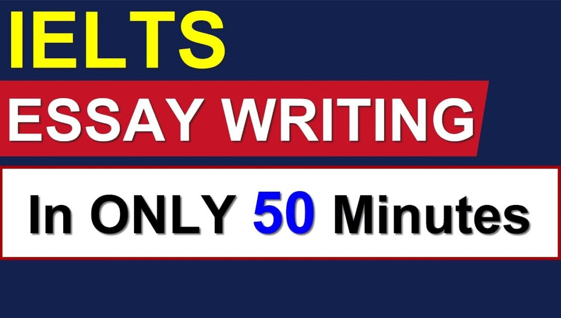 IELTS ESSAY WRITING: In ONLY 50 Minutes By Asad Yaqub